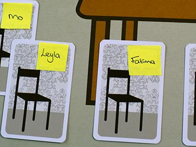 eigen kracht conferentie tafel