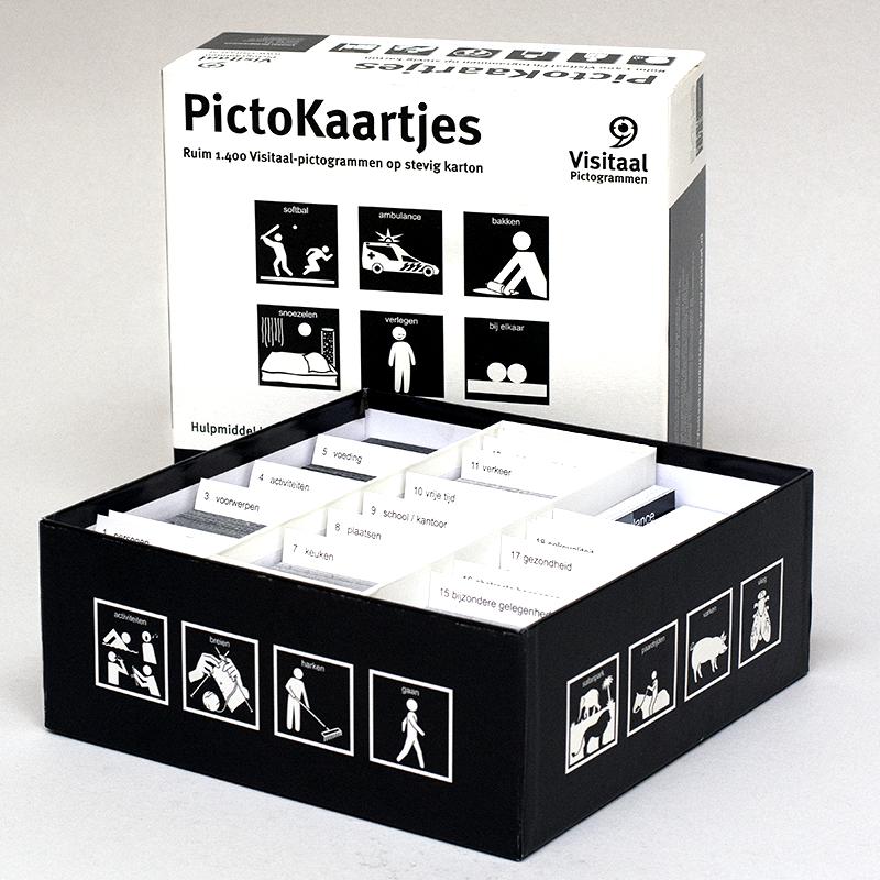 Verrassend 1.400 Pictogrammen op kaartjes met 10 voorleesboekjes GK-72