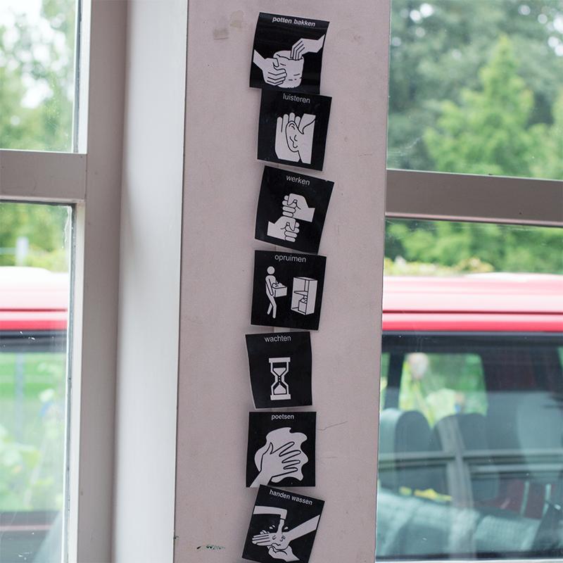 pictogrammen school visitaal
