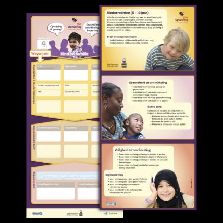 interculturele praatwijzer poster kinderrechten