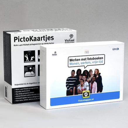 aanbieding onderwijs pictogrammen pictokaartjes fotostapper