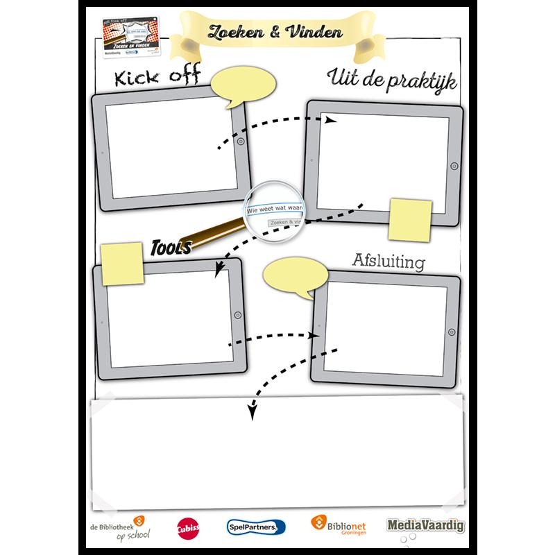mediawijsheid docentenspel zoekvind spelposter mediavaardig
